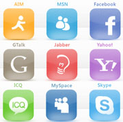 Skype, Facebook, ICQ, MySpace, GTalk, Jabber, Yahoo, MSN, AIM in www.machoars.do.am